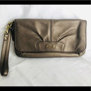Coach wristlet/ purse